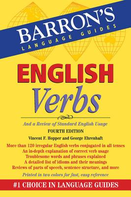 English Verbs: And a Review of Standard English Usage (Barron's Verb) Cover Image