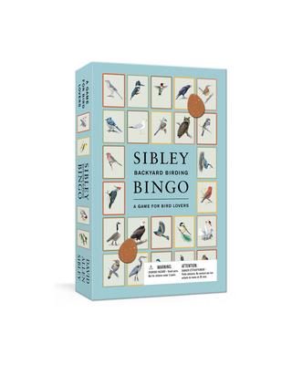 Sibley Backyard Birding Bingo: A Game for Bird Lovers: Board Games (Sibley Birds) Cover Image