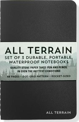 All Terrain Waterproof Notebooks Cover Image