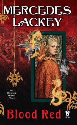 Blood Red (Elemental Masters #9) Cover Image