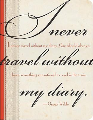 Oscar Wilde Mini Journal Cover