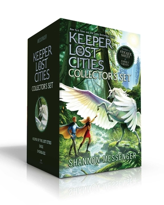 Keeper of the Lost Cities Collector's Set (Includes a sticker sheet of family crests): Keeper of the Lost Cities; Exile; Everblaze Cover Image