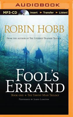 Cover for Fool's Errand (Tawny Man #1)