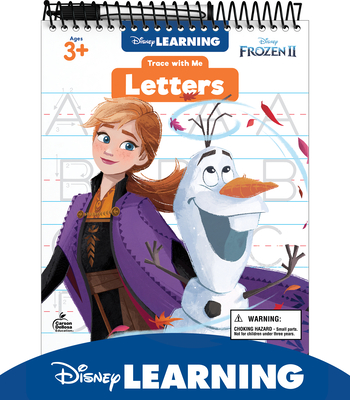Trace with Me Disney/Pixar Letters [With Dry-Erase Pen] Cover Image