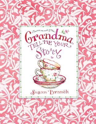 Grandma Tell Me Your Story - Keepsake Journal Cover Image