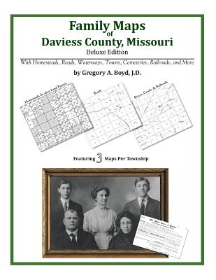 Family Maps of Daviess County, Missouri Cover Image