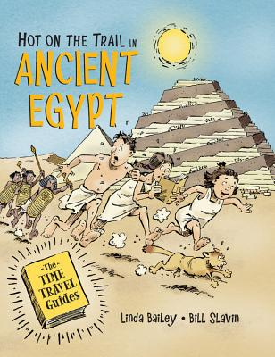 Hot on the Trail in Ancient Egypt (The Time Travel Guides) Cover Image