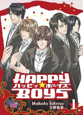 Happy Boys, Volume 1 Cover Image