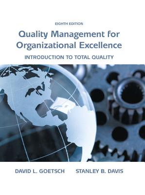 Organizational Excellence: Introduction to Total Quality Cover Image