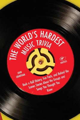 The World's Hardest Music Trivia: Rock 'n' Roll History, Fun Facts, and Behind the Scenes Stories about the Groups and Songs You Thought You Knew Cover Image