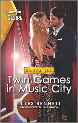 Twin Games in Music City: A Fun and Sassy Twin Switch Romance Set in Nashville Cover Image
