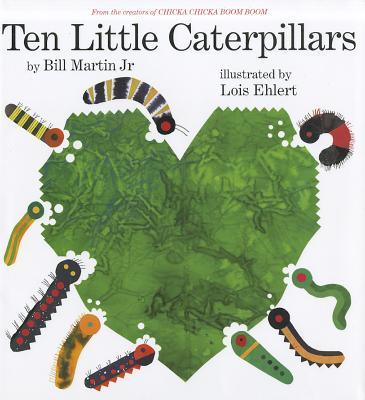 Ten Little Caterpillars Cover