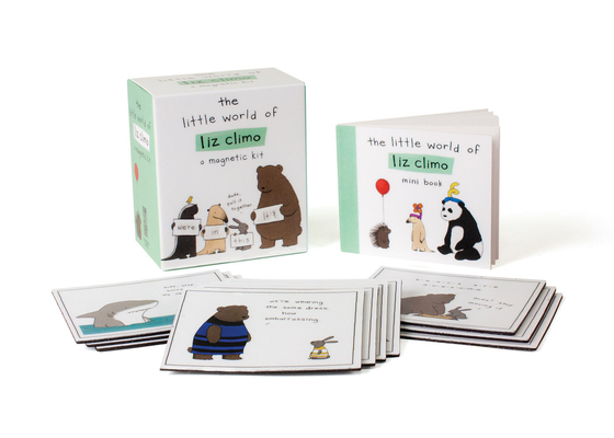 The Little World of Liz Climo: A Magnetic Kit (RP Minis) Cover Image