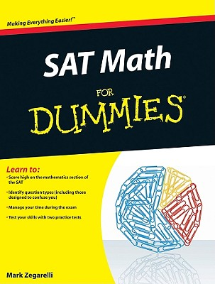 SAT Math for Dummies Cover
