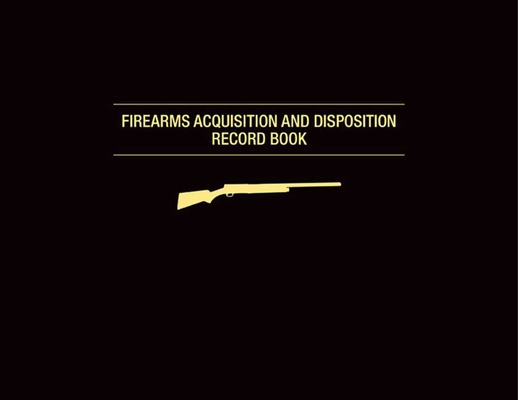 Firearms Acquisition and Disposition Record Book Cover Image
