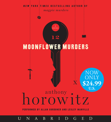 Moonflower Murders Low Price CD: A Novel Cover Image