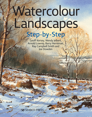 Watercolour Landscapes Step-by-Step (Step-by-Step Leisure Arts) Cover Image