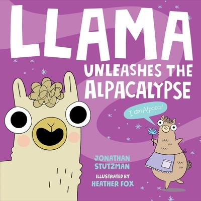 Llama Unleashes the Alpacalypse (A Llama Book #2) Cover Image