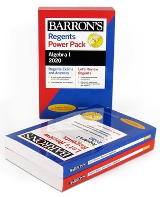 Regents Algebra I Power Pack 2020 (Barron's Regents NY) Cover Image
