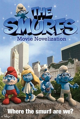 The Smurfs Movie Novelization Cover