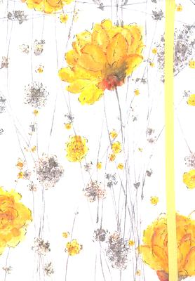 Yellow Flowers Journal Cover Image