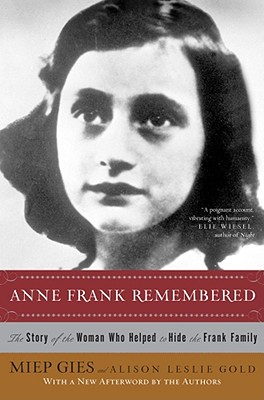 Anne Frank Remembered Cover