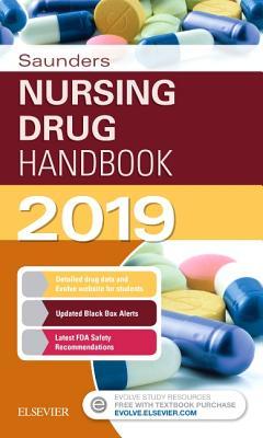 Saunders Nursing Drug Handbook 2019 Cover Image