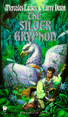 Cover for The Silver Gryphon (Mage Wars #3)