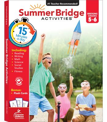 Summer Bridge Activities(r), Grades 5 - 6 Cover Image