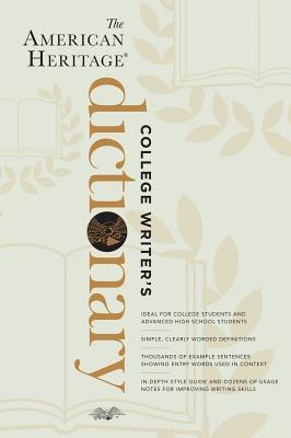 The American Heritage College Writer's Dictionary Cover Image