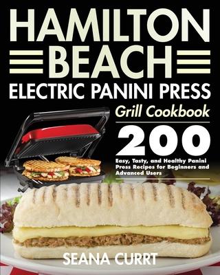 Hamilton Beach Electric Panini Press Grill Cookbook Cover Image