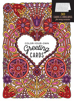 Color-Your-Own Greeting Cards Cover
