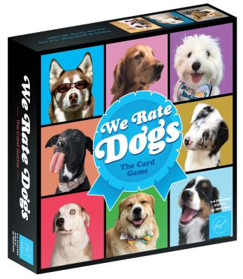 We Rate Dogs! The Card Game – For 3-6 Players, Ages 8+ - Fast-Paced Card Game Where Good Dogs Compete to be the Very Best – Based on Wildly Popular @WeRateDogs Twitter Account Cover Image