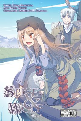Spice and Wolf, Volume 8 Cover