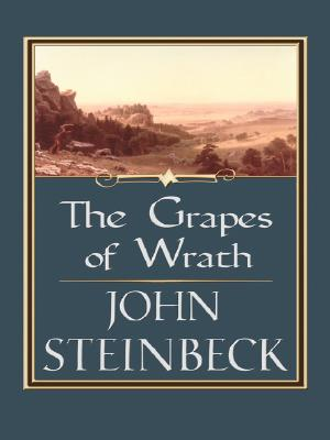 Grapes of Wrath (Thorndike Famous Authors) Cover Image