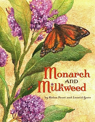 Monarch and Milkweed Cover