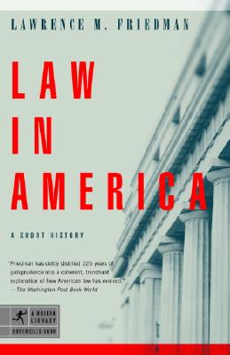 Law in America: A Short History Cover Image