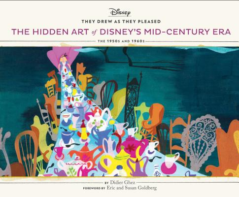They Drew As They Pleased Vol 4: The Hidden Art of Disney's Mid-Century Era (Disney Art Books, Gifts for Disney Lovers) Cover Image
