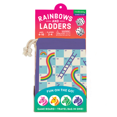 Rainbows & Ladders Travel Game Cover Image