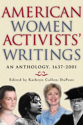 Cover for American Women Activists' Writings