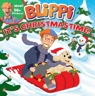 Blippi: It's Christmastime! (8x8) Cover Image