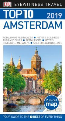 DK Eyewitness Top 10 Amsterdam (Pocket Travel Guide) Cover Image