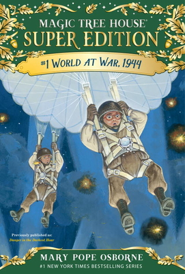 World at War, 1944 (Magic Tree House Super Edition #1) Cover Image