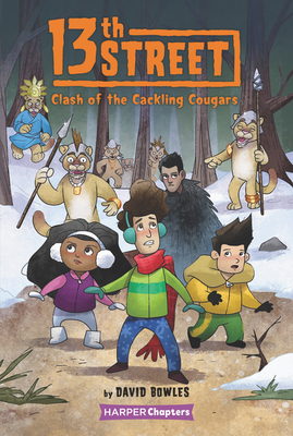 13th Street #3: Clash of the Cackling Cougars (HarperChapters) Cover Image
