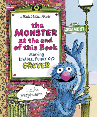 The Monster at the End of This Book (Sesame Street) (Little Golden Book) Cover Image