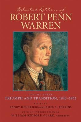 Selected Letters of Robert Penn Warren Cover