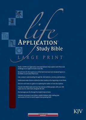 Life Application Study Bible-KJV-Large Print Cover Image