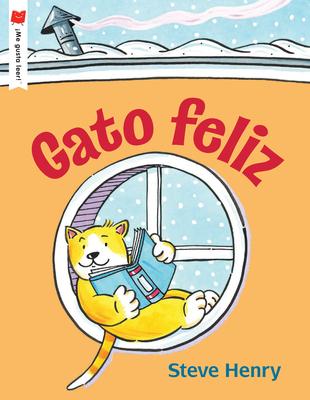 Cover for Gato feliz (¡Me gusta leer!)