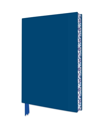 Mid Blue Artisan Notebook (Flame Tree Journals) (Artisan Notebooks) Cover Image