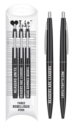 Rebellious Pens (Lovelit Mini Bic CLIC P Cover Image